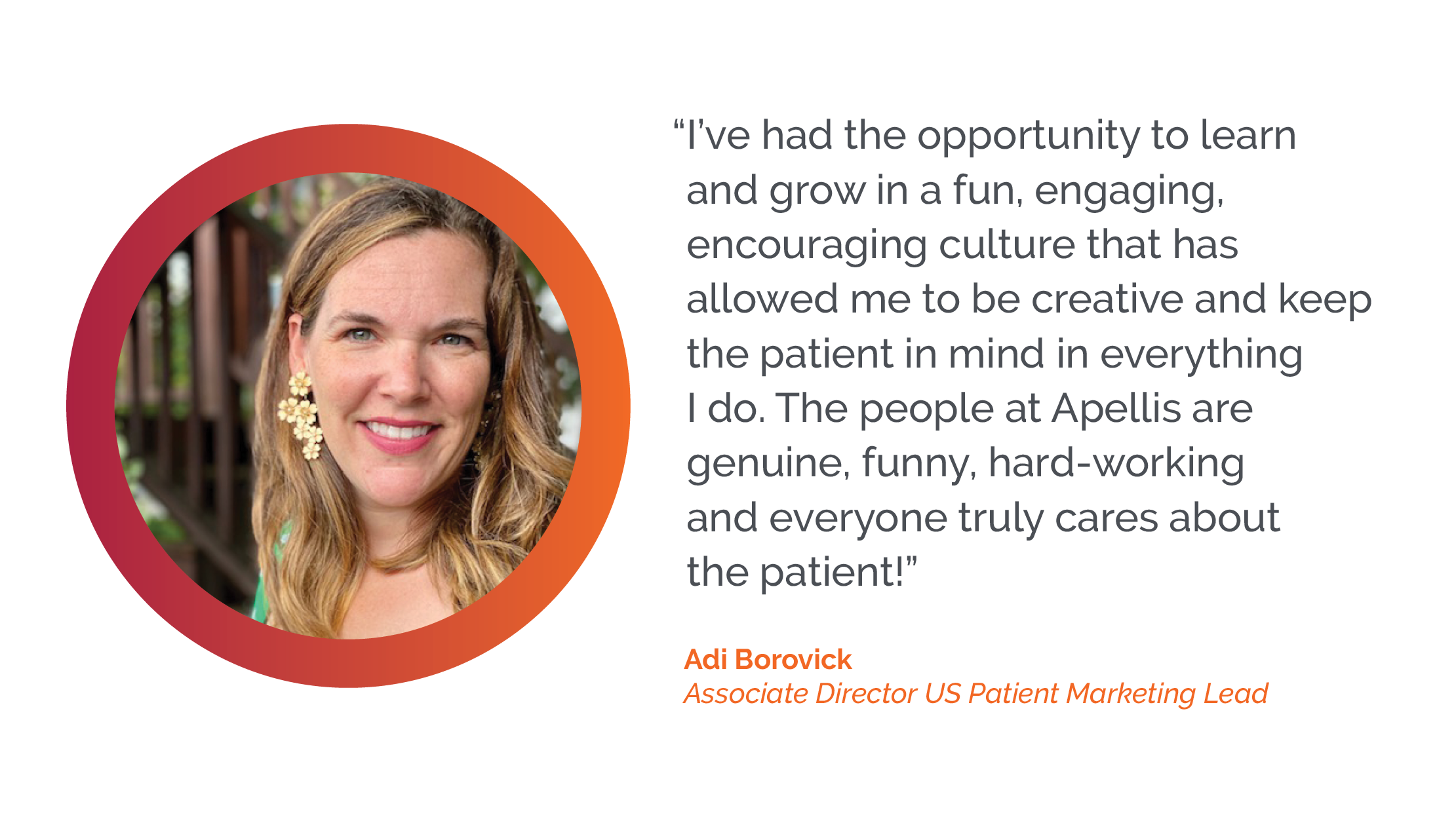 I've had the opportunity to learn and grow - Adi Borovick